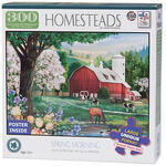 Homesteads Spring Morning Puzzle 300 Pieces
