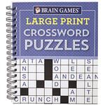 Brain Games® Large Print Crossword Puzzles
