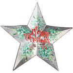 Merry Christmas Metal Star by Fox River Creations™