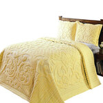 Ashton Chenille 3-Piece Bedding Set