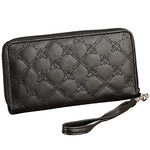 RFID Quilted Stitched Wristlet