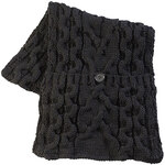 Knit Pocket Scarf