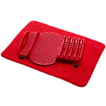 2 Piece Dish Rack with Drying Mat by Chef's Pride