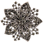 Magnetic Floral Brooch