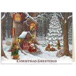 Personalized The Night Before Christmas Card w/Bookmark S/20