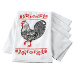 Barnyard Flour Sack and Utility Kitchen Towel Set