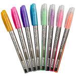 Gel Roller Pens, 8 Count