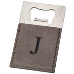 Personalized Grey Bottle Opener
