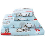 Red Truck Christmas Flannel Sheet Set by OakRidge™