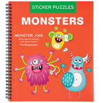 Monsters Sticker by Number Book