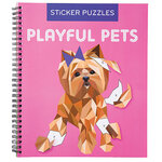 Playful Pets Sticker by Number Book