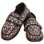 Silver Steps™ Floral Adjustable Edema Slipper