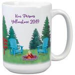 Personalized Happy Camper Mug