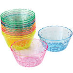 Rainbow Dessert Cups, Set of 12
