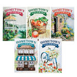 Hometown Coloring Books Set of 5