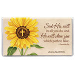 Personalized 2 Year Planner Sunflower Cross