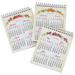 Seasonal Calendar Notepads