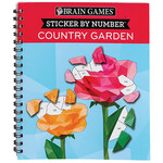 Brain Games® Sticker By Number Country Garden