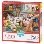 Cats™ Laid-Back Tom™ 750 Piece Puzzle