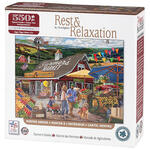 Rest & Relaxation Farmer's Market 550 Piece Puzzle
