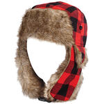 Buffalo Plaid Bomber Hat