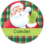 Personalized Children's Christmas Stickers, Set of 240