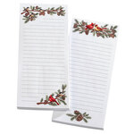 Winter Birds Note Pads, Set of 2