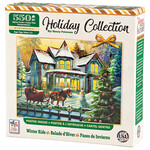 Holiday Collection Winter Ride Puzzle, 550 pieces