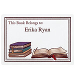 Personalized Book Plates Set of 30