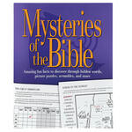 Mysteries of the Bible Activity Book