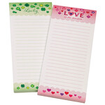 Hearts & Shamrocks Note Pads, Set of 2