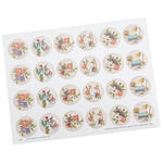Correspondence Stationery Seals, Set of 48