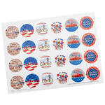 Patriotic Seals, Set of 48