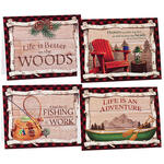 Northwoods Note Cards, Set of 20