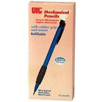 Officemate® OIC® Blue Barrel Mechanical Pencils Set of 12