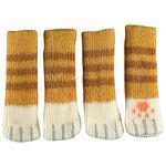 Kitty Chair Feet Socks, Set of 4