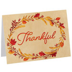 Personalized Thankful Card Set of 20
