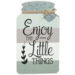 Mason Jar Little Things Wall Decor