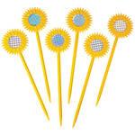 Sunflower Garden Protectors, Set of 6