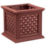 Rattan-Style Planter Box