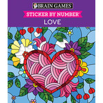 Brain Games® Sticker-By-Number Faith Books