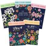 Hymns & Psalms Coloring Books, Set of 5