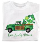 Personalized Vintage Shamrock Truck T-Shirt