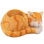 Sleeping Cat Desk Organizer