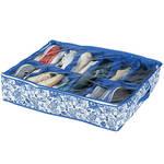 Blue Print Underbed Storage Bag