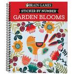 Brain Games® Sticker by Number Garden Blooms