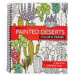 Simple 1-2-3™ Painted Deserts Color & Frame Book
