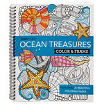 Simple 1-2-3™ Ocean Treasures Color & Frame Book