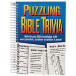 Puzzling Bible Trivia Book
