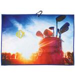 Personalized Horizontal Golf Bag Microfiber Golf Towel